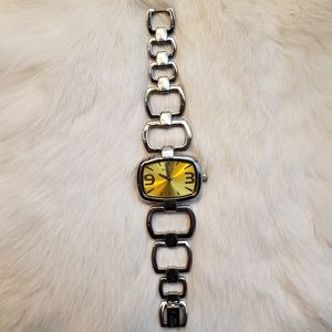 Invicta Wildflower Style 0035 Yellow Dial NWT